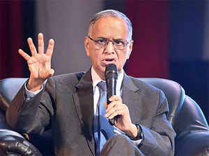 Narayana Murthy trashes artificial intelligence as hype, asks IT leaders to be less greedy