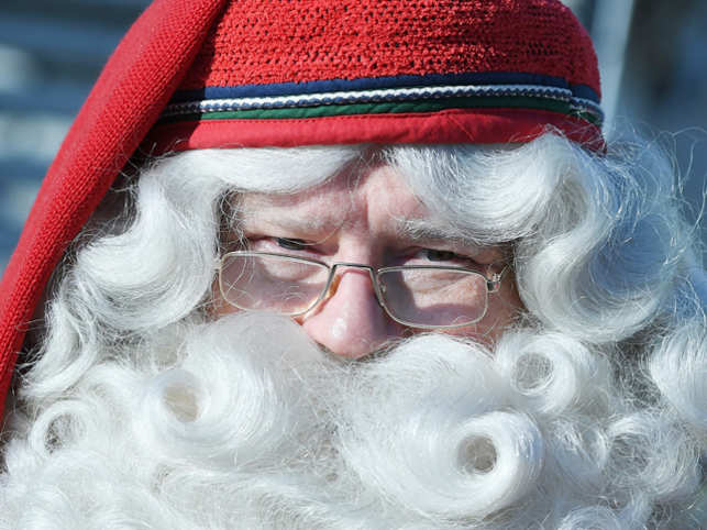 risk: Why Santa Claus is setting a bad example for children all over ...
