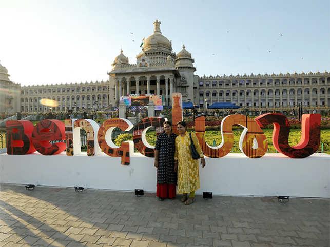 India first: Bengaluru gets a logo