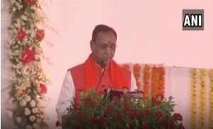 Watch: Vijay Rupani takes oath as Gujarat chief minister