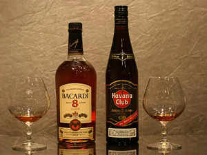 bacardi: Bacardi adds colour to white rum image - The
