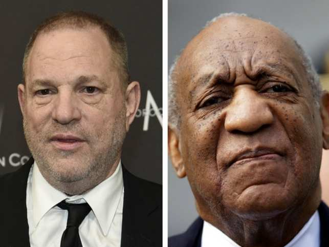 It all started with Harvey Weinstein in 2017 and four months in to 2018 and now with Bill Cosby's conviction, things are certainly looking up for the #MeToo movement. The number of cases of sexual harassment in Hollywood that have come to light since 2017 has been outstanding. It could also be called the 'Weinstein Effect'. Many of the women who spoke out against Weinstein -- Gwyneth Paltrow, Ashley Judd, Rose McGowan -- are famous names.  2018 has been no different and in a breakthrough trial, after decades of whispers, lawsuits, investigations and close calls - and a multitude of women who lost hope anyone would ever believe their word against that of America's Dad - Bill Cosby could be headed to prison at age 80 for the remainder of his life. Cosby's conviction will only bolster the #MeToo movement.  But they weren't alone, it was almost like a Pandora's Box was opened and a lot of names came out. Let's look at all the accused men: