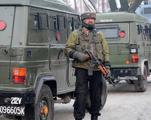 J&K: Terrorists storm into CRPF camp, two personnel injured
