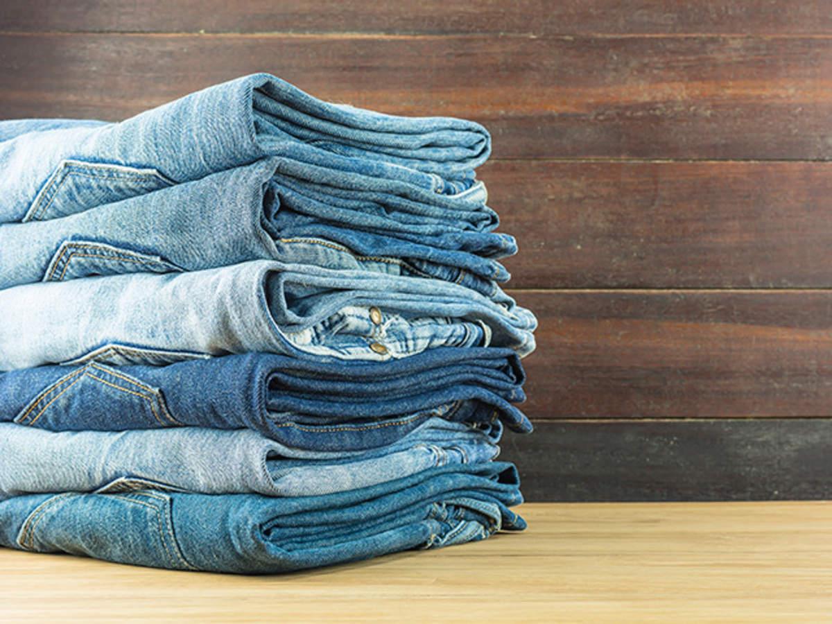 M/&S Dark Indigo Washed Look Ripped Girlfriend Denim Jeans