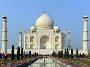 Image result for Tourist entry at Taj Mahal to be capped at 40K daily, for max