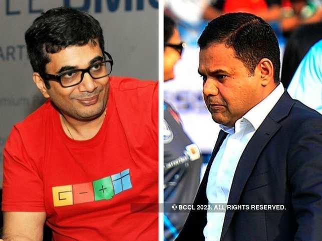 GoQii CEO Vishal Gondal (left) and London's deputy mayor (business) Rajesh Agarwal