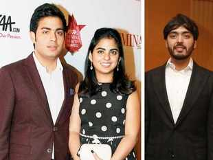 Billionaire Mukesh Ambani's twins Akash, Isha and Anant