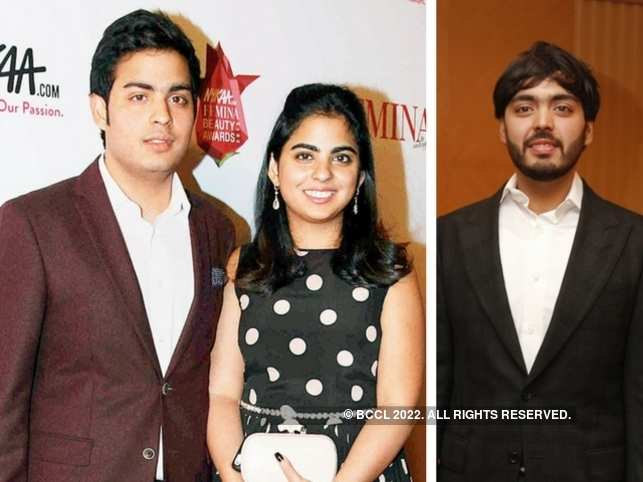 Billionaire Mukesh Ambani's twins Akash, Isha and Anant