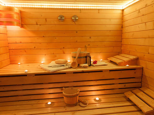 More than just pampering minute sauna bath may reduce