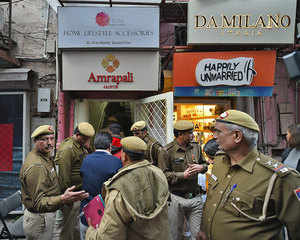Khan Market in soup: 30 eateries sealed, traders cry foul