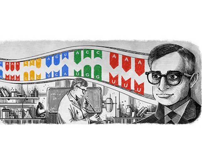 Google doodle honours Indian-American biochemist