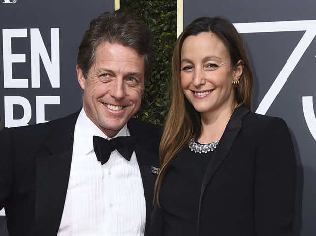 hugh grant hugh grant to be a father for the fifth time the