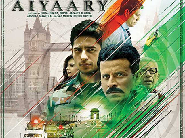 'Aiyaary' narrates the fallout and subsequent face-off between two Army officers - a mentor and a protege.