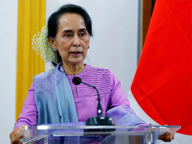 "Suu Kyi says Rohingya mass grave investigation ""positive"""