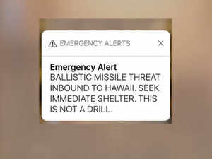 hawaii: Hawaii panics after inbound missile alert goes off in error