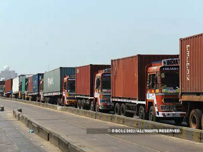 India plans common logistics portal to ease movement of goods, reduce logistics cost - Economic Times
