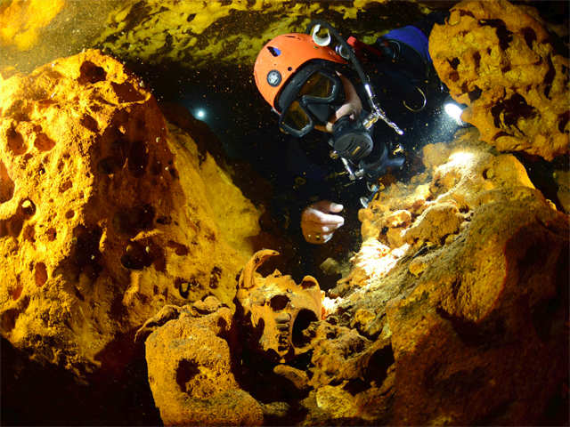 Image result for Worlds Biggest Flooded Cave Found In Mexico