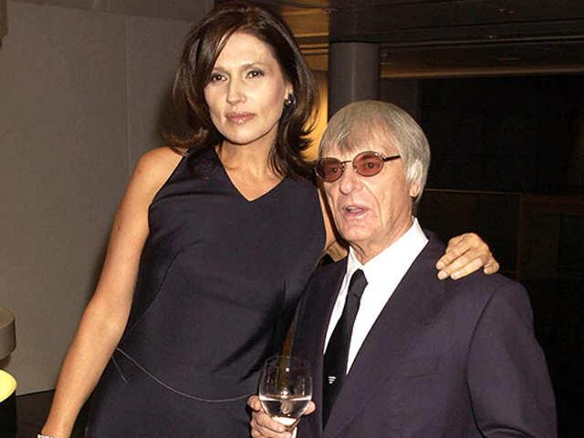 Hasil gambar untuk Bernie and Slavica Ecclestone, $1.2 billion