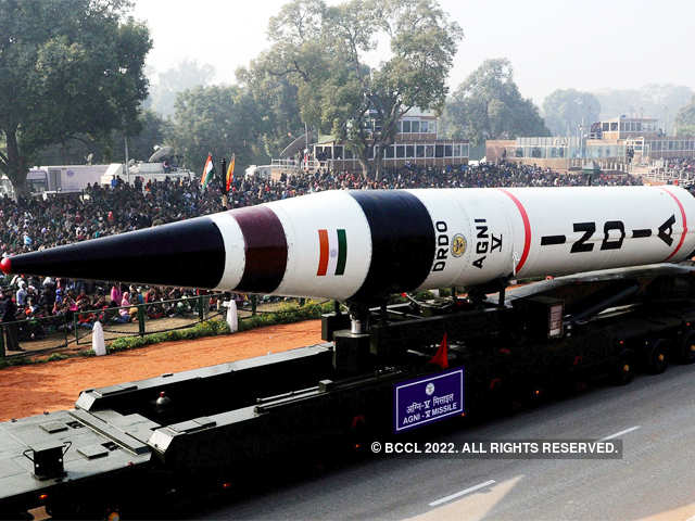 Height & Weight - Agni V, India's first ICBM, successfully