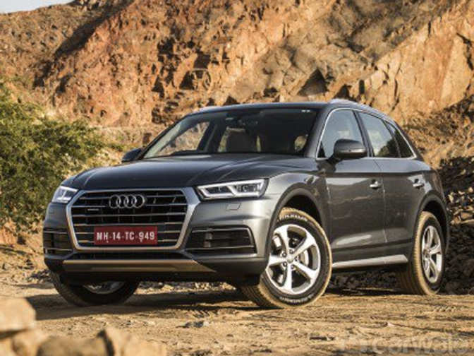 audi wheels in an all new version of premium suv q5 priced at rs lakh the economic times. Black Bedroom Furniture Sets. Home Design Ideas
