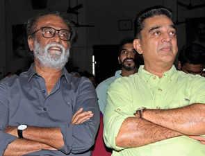 Rajinikanth wishes Kamal Haasan luck on his foray into politics