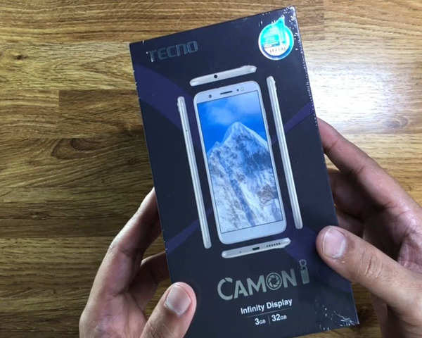 Watch: Unboxing the Tecno 'Camon i'