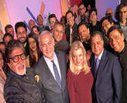 When Bollywood partied with Israeli PM