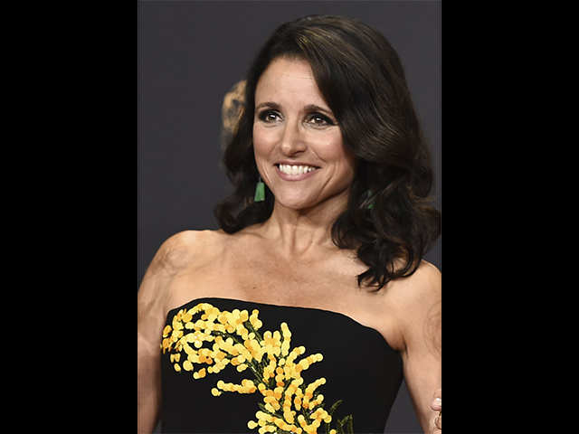 'Veep' star Julia Louis-Dreyfus misses SAG Awards due to cancer, creates history with twin victory