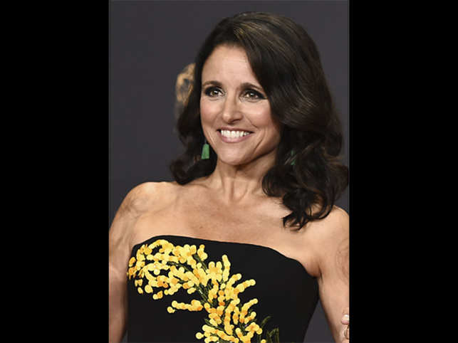 Julia Louis-Dreyfus reacts to SAG Awards win