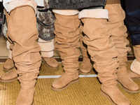 Hit or miss? Bizarre thigh-high Ugg boots divide the Internet
