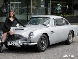 Aston Martin's four door production sports car Rapide