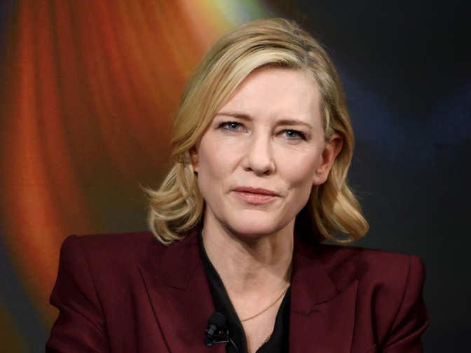 cate blanchett: Davos Diaries: Cate Blanchett wants people ... кейт бланшетт
