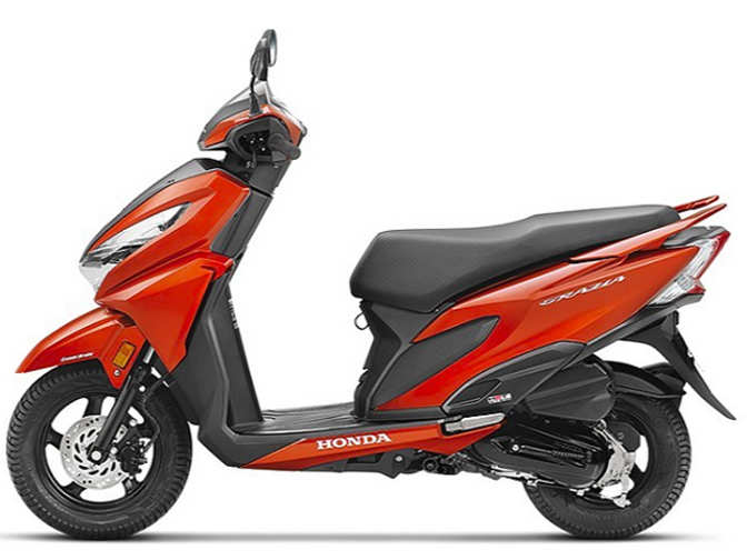 Honda 4 Wheelers >> graiza: Honda's latest scooter Grazia sets record in volume league - The Economic Times