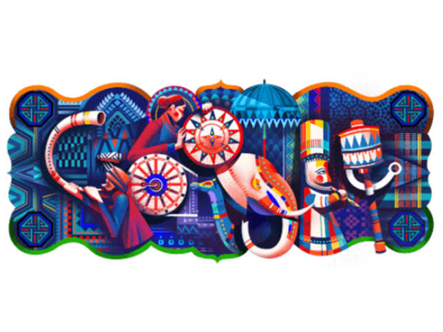 India Republic Day Google Doodle Google Marks India S 69th