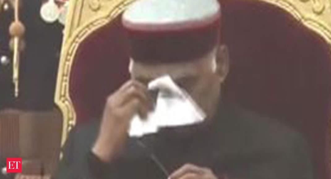 Watch: Prez Kovind gets emotional after awarding Ashok Chakra