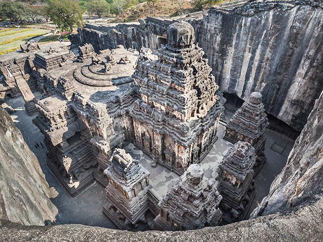 Ajanta and ellora caves, historic caves,