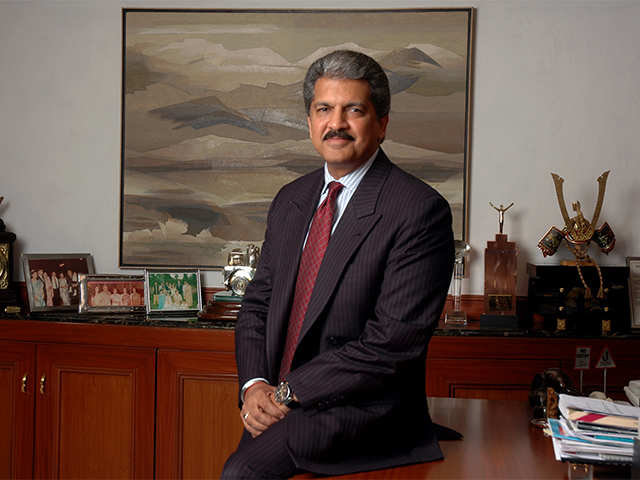 Anand Mahindra, Chairman, Mahindra Group - From Jack Ma To Anand Mahindra, What Business Leaders And Head Turners Discussed at WEF 2018 | The Economic Times