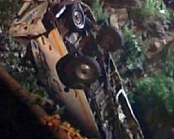 12 feared dead in a tragic bus accident in Kolhapur