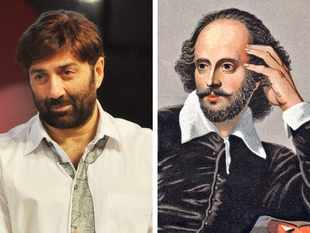 Sunny Deol brushes biceps with Shakespeare in an effort to reach masses