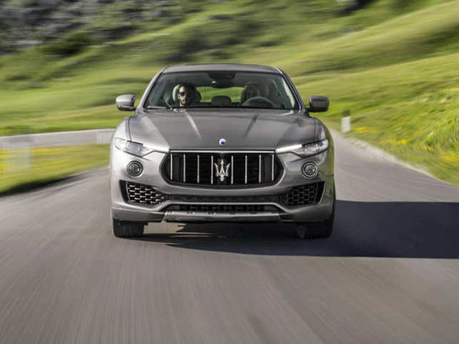 Maserati Levante Maserati Brings Another Premium Suv To India