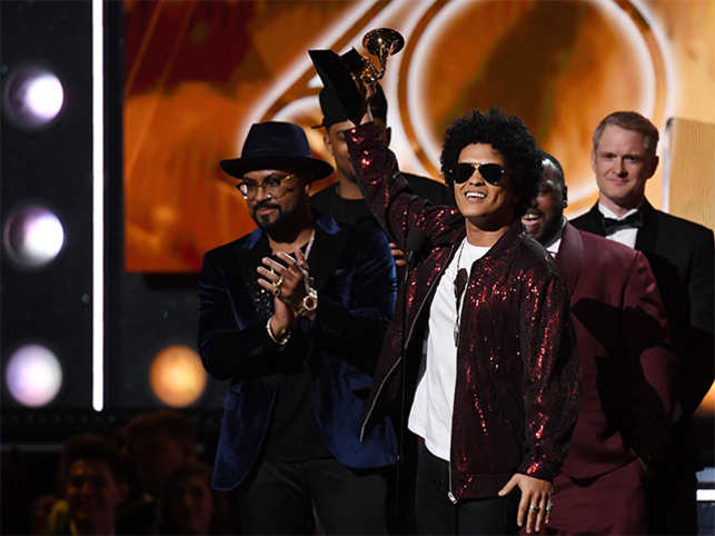 Fire and fury at the Grammys: Moments to remember