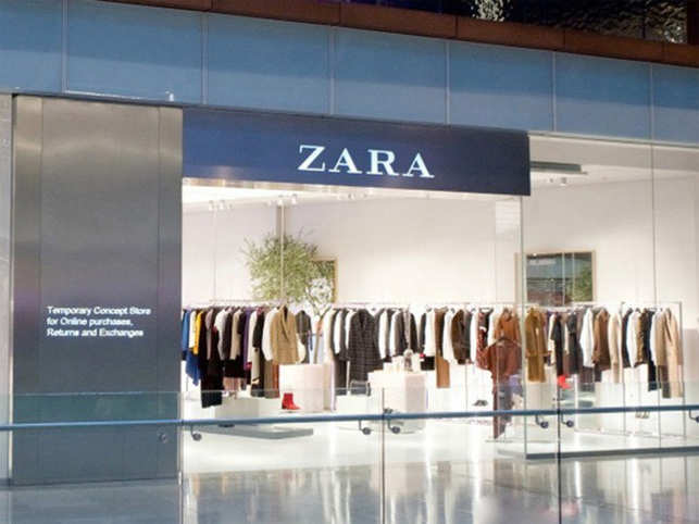 zara future of fashion zara unveils click and collect pop up concept store the economic times. Black Bedroom Furniture Sets. Home Design Ideas