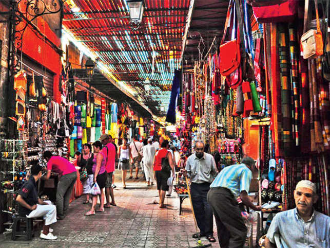 Post event make way to the colourful markets of Marrakesh for an authentic shopping experience.
