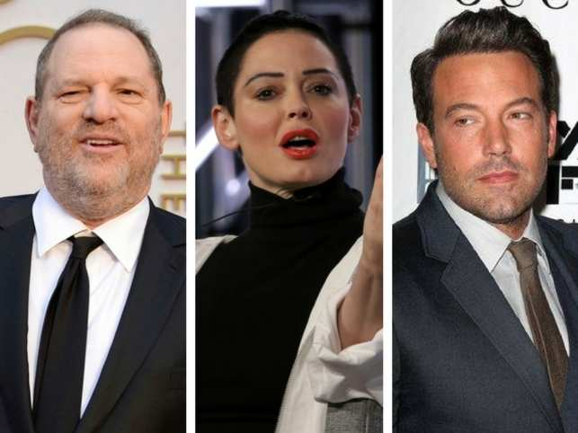 Harvey Weinstein denies Rose McGowan's claims, makes e-mails from Ben Affleck public