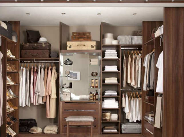 b5376c58b3803a David Beckham may not have a shortage of wardrobe space. Most of us
