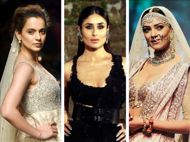The four-day Lakmé Fashion Week came to a close on Sunday. This time, the fashion fest focussed on sustainable development. And Bollywood turned up in full strength to bat for the good cause. From Kangana Ranaut to Kareena Kapoor-Khan, A-listers of B-town added oomph and glamour.  	Here's a quick look at those who turned showstoppers, and stole our hearts!