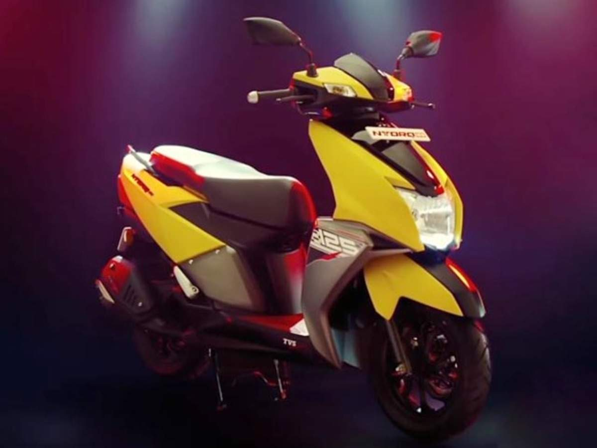 Tvs Ntorq Tvs Motor Launches India S First Connected