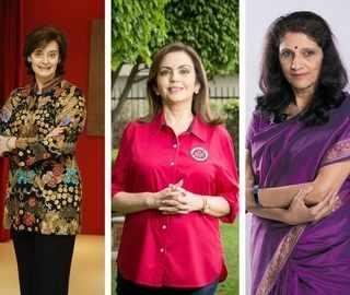 ET Women's Forum: Cherie Blair, Nita Ambani, Meena Ganesh to discuss glass ceiling, gender diversity