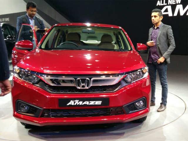 All-new Honda Amaze unveiled at Auto Expo 2018