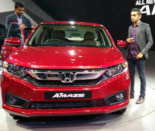 All-new Honda Amaze unveiled at Auto Expo 2018